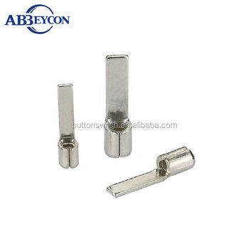 T10-Copper Terminal DBN Chip-shaped naked terminal Non-insulated blade terminals