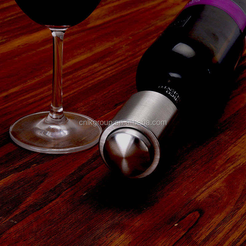 High quality promotional unique bottle opener of vacuum wine stopper
