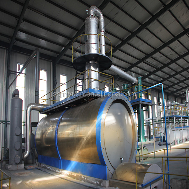 Used Car Engine Oil Distillation Plant Waste Oil Recycle to Diesel Machine Black Oil Distillation Machine