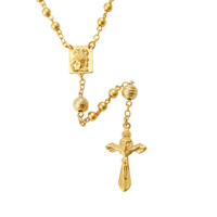 43285 Xuping 24k gold plated pendant cross necklace, pendant necklace christian jewelry