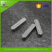 YG6/YG8 Gangxin Brand wholesale tungsten carbide round sliver carbide jaw inserts