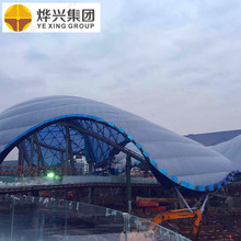 Architecture ETFE membrane structure ETFE air cushion structure for Shanghai Disneyland