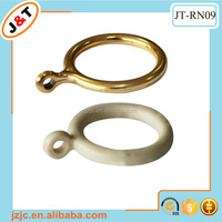 hot sales plastic white gold curtain ring
