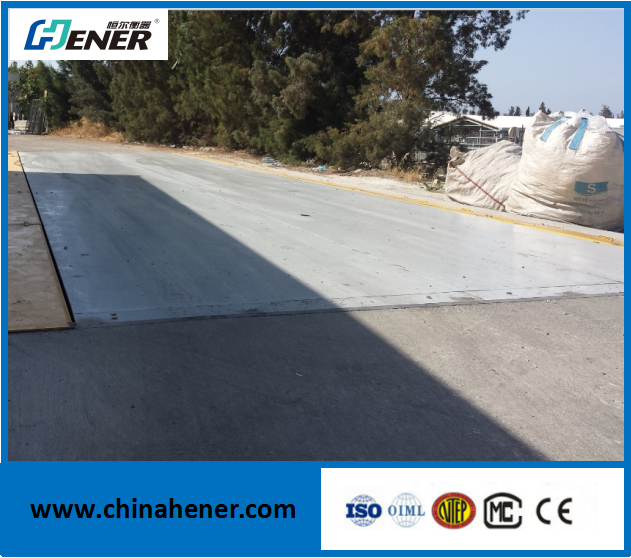 50 ton truck scale weighbridge price