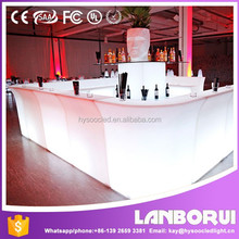 Led furniture lighting rechargeable disco KTV nightclub <strong>bar</strong> counter light <strong>bar</strong> table