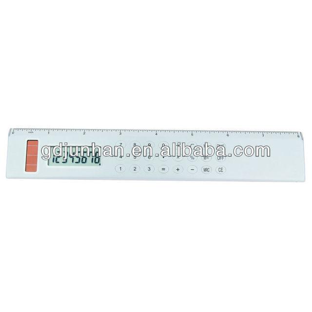 JH5007 desktop 8 digital 8inch ruler calculator