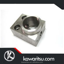 High precision OEM CNC machined aluminum connecting joint parts