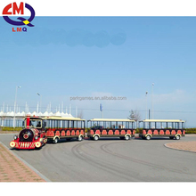 [Zhengzhou Limeiqi] fairground 18/24 seats amusement kids ride tourist trains for sale