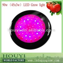 2012 super power 50w 120w 90w ufo black star led grow light for best flowering and fruiting with full spectrum