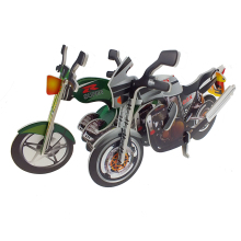 Good service factory directly sale 3d motorcycle puzzle