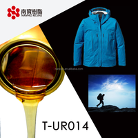 Advanced Amber Transparent Roller coating PUR Glue For Textile application