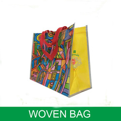 promotional PP Non Woven Promotional Tote Bags/shopping bag /pp woven bag