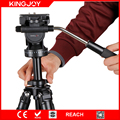 factory supply heavy duty mini camera tube tripod with flip lock tripod