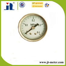 Back Connetcion Mini Air Pressure Gauge