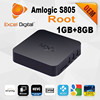 Factory wholesale top selling Quad core Amlogic S805 Android tv box MXQ
