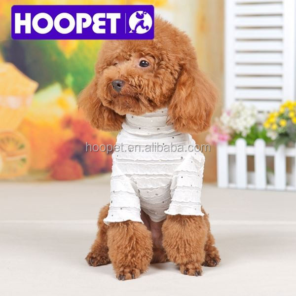 2015 New Small sequins pet dog clothes puppy sweaters