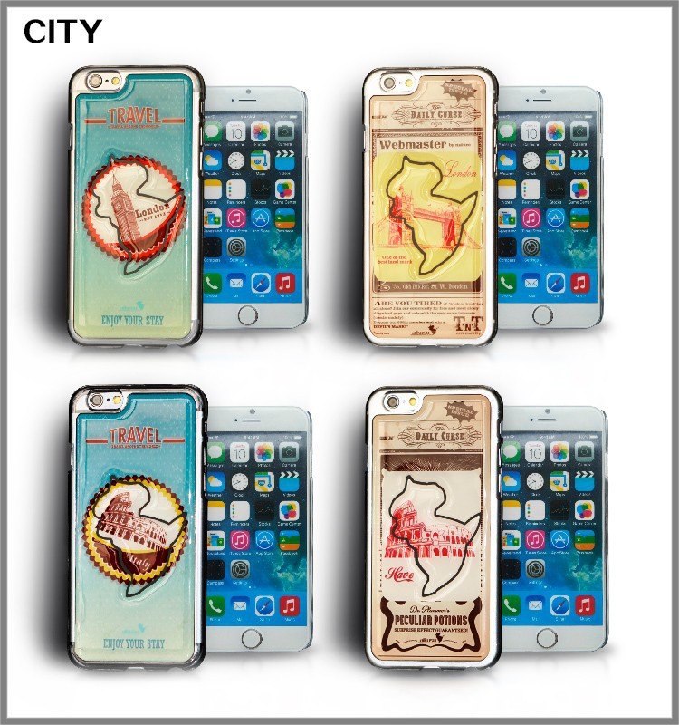 hot sale! Luxury epoxy gel skin case cover for iphone 4s 4 ,5s, 5, 6