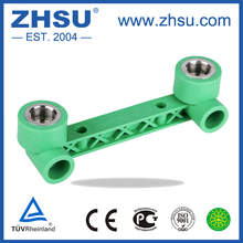 ZHSU PPR Fittings Duplex Female Threaded Elbow