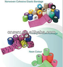 non woven /cotton cohesive bandage(FDA,CE)