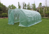 6 x 3 x 2M FULLY GALVANISED POLYTUNNEL GARDEN GREEN HOUSE