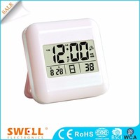 atomic radio control travel alarm clock , hd electric radio alarm clock with 7 optional languages