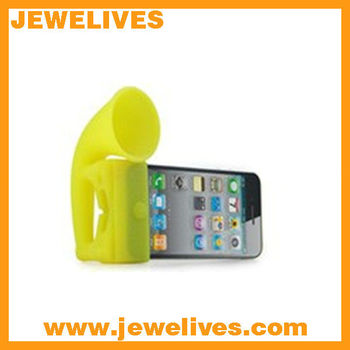 Soft Silicone Speaker Stand Holder for iPhone
