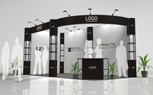 Fashion Creative cosmetic exhibit booth