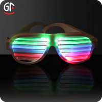 China Wholesale Wedding Gifts for Guests Custom Rechargeable Flashing Music Activated Best Brand Sunglasses