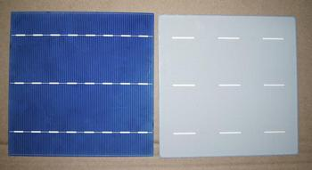 2014 high efficiency hot sale 156mmx156mm 6inch,2BB/3BB poly solar cell