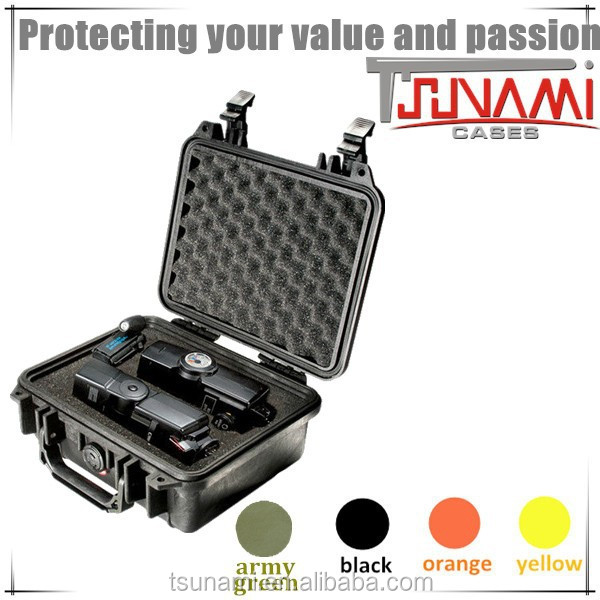 Waterproof IP67 Case Protective Hard plastic equipment case ipad military case