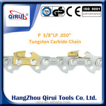 Powerful garden tools 3/8 saw chain for chainsaw saw chain tungsten