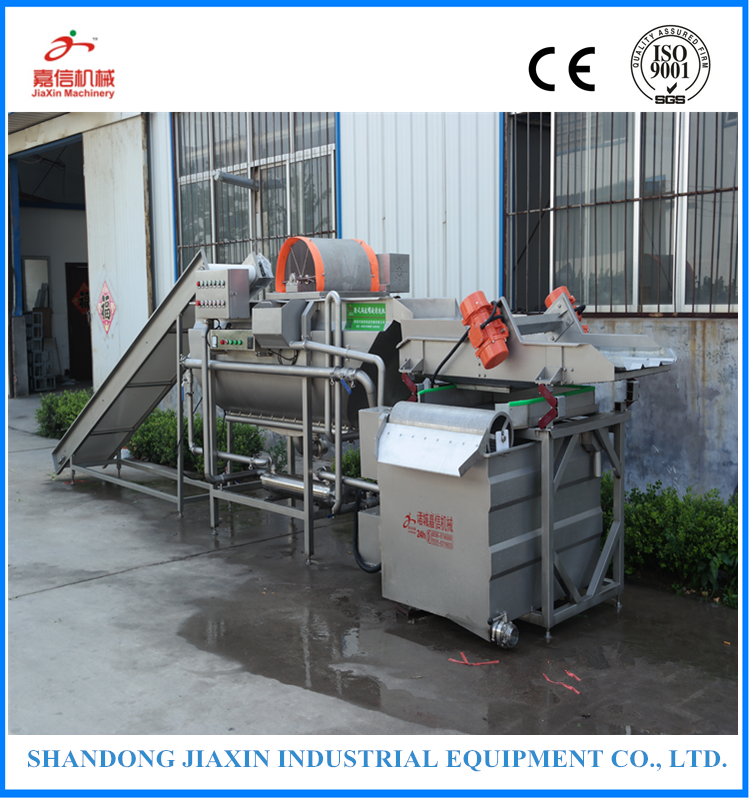 Industrial full automatic fruit and vegetable washing and drying machine/fruit drying machine