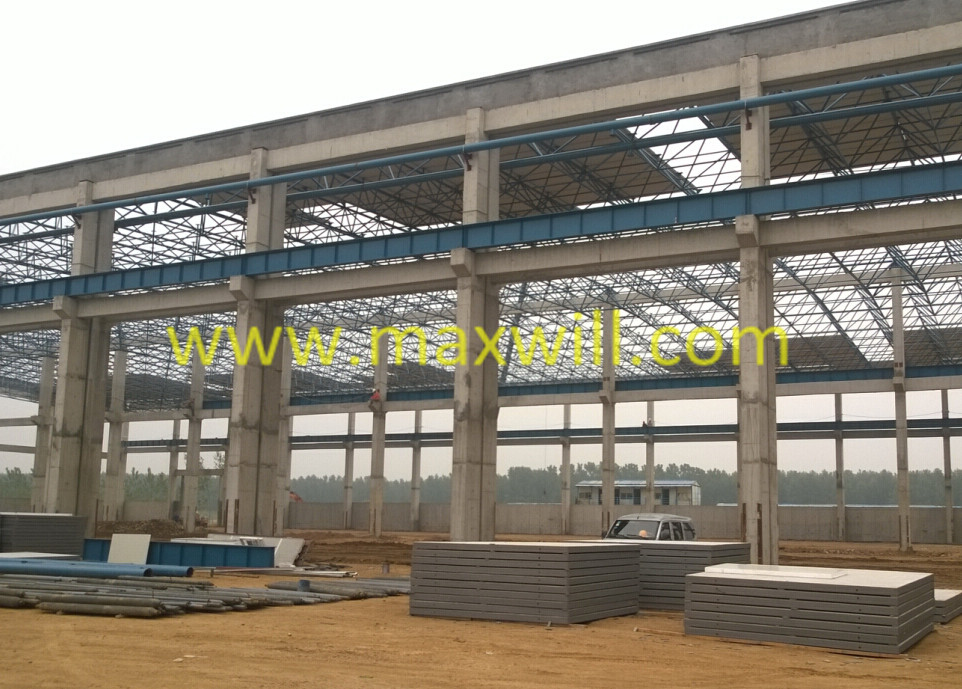 2015 project steel triangular roof truss