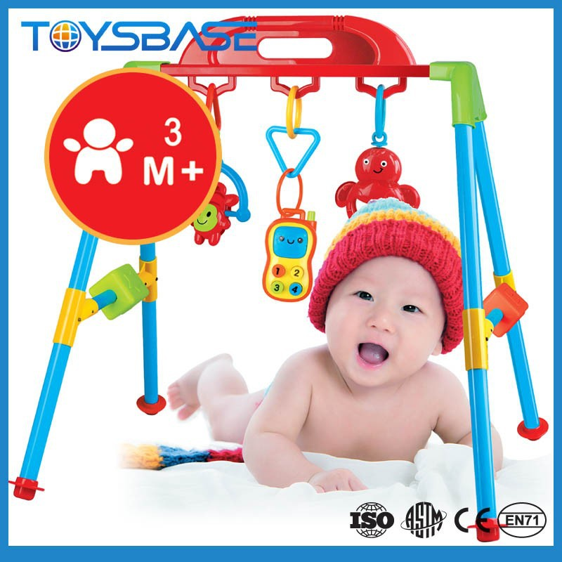 2015 Top sale baby fitness gym baby music activity Frame