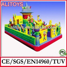 hot sale entertainment park giant inflatable fun city park games toys for kid