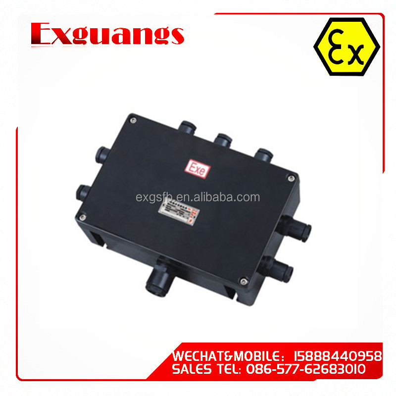 Full plastic waterproof junction box(IP65 IIC)