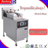 high pressure fryer/deep fried chicken machine/Commercial free standing electric chicken deep fat pressure fryers