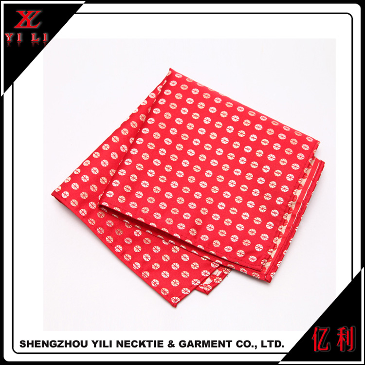 Wedding bride silk woven handkerchief for sale