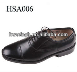 DH,western popular uniformal style leather oxfords dress shoes for men