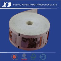 standard qualified thermal ATM paper rolls in cash register paper used for bank