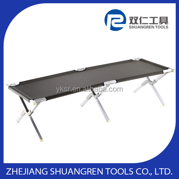 Hot selling Premium folding camping cot -Aluminum 2thickness