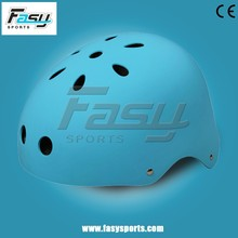 Fasy matt sky blue road helmet for boy