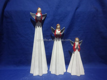 wholesale ceramic goddess christmas ornaments with holy bible
