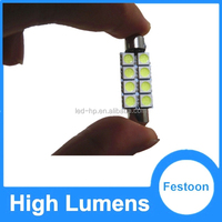 Canbus cheap price but high quality festoon 5050-8SMD car light 42mm LED Festoon Car Light
