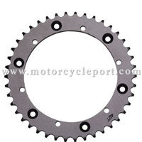 42T Steel Motorcycle Sprocket