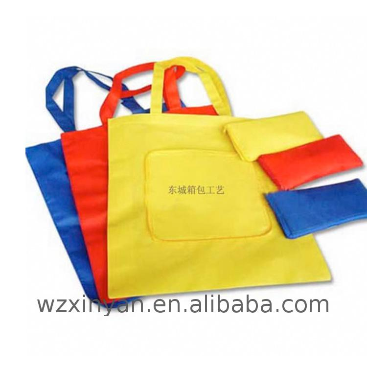 Factory Supply non woven laminated shopping bag shopper with zipper