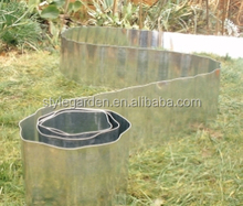5m / 10m Galvanised Metal Border Lawn Garden Landscape Edging