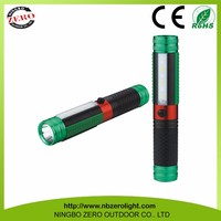 Outdoor Portable XPE 3 WHITE SMD 3 RED SMD Led Torch Flashing Spection Light