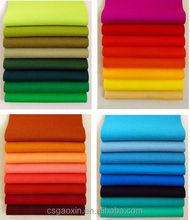Verious thickness Colorful polyester felt for home textile/garment
