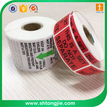 Tongjie-70 Factory price customized self adhesive round vinyl sticker roll manufacturer, circle logo sticker